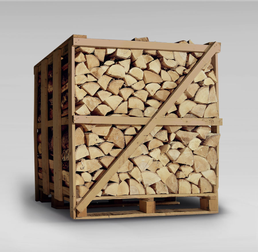 Deluxe Ash Firewood Logs - XL Crate