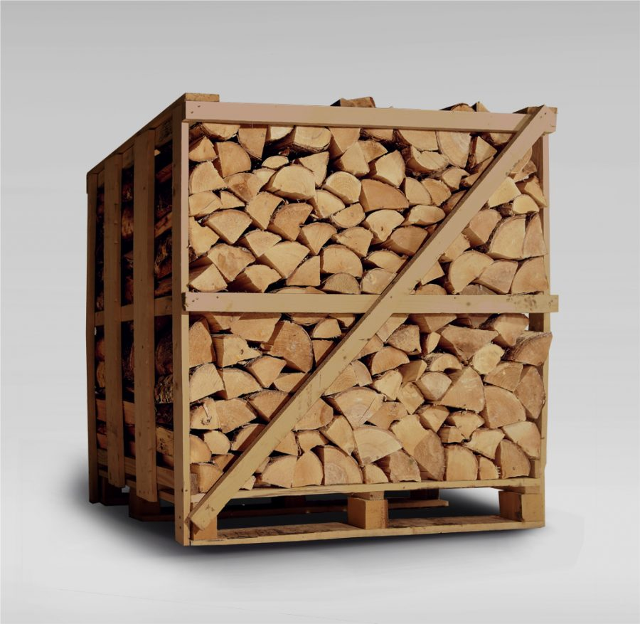 Eco Firewood Logs - XL Crate