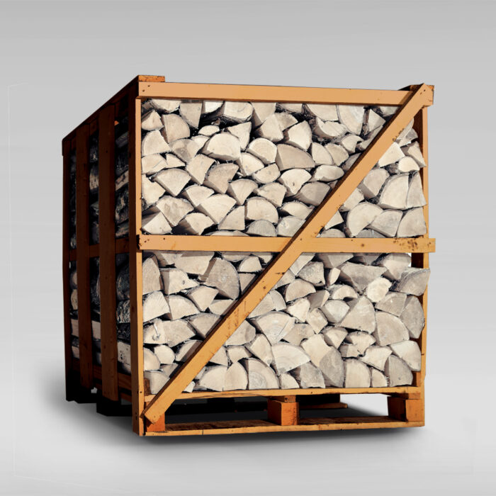 Sterling Silver Birch Firewood - XL Crate