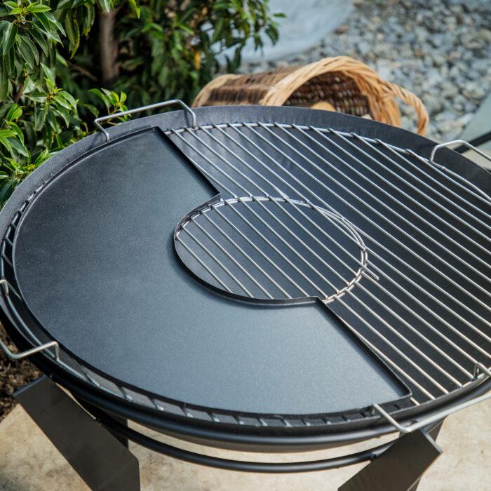 Outdoor Colorado Metal Griddle Plate – Black